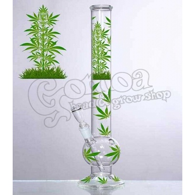 "Bong Glass ""Leaf Jhari\"" 45 cm"