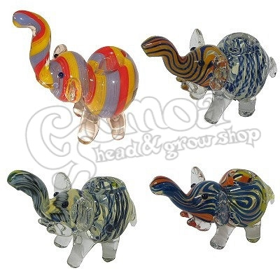 Elephant Glass Pipe 3