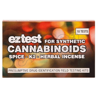 EZ-test for Synthetic Cannabinoids 10pcs