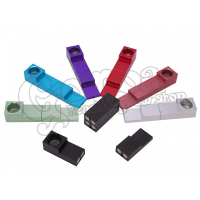 "Magnetic ""click\"" pipe various colours 7 cm 3"