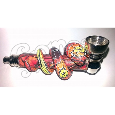 FIMO Snake Design Metal pipe 5