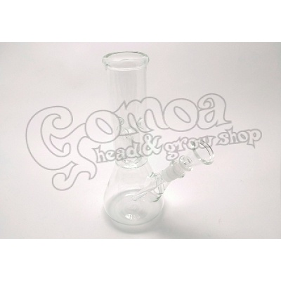 Transparent Glass Percolator Bong with Ice Holder 21 cm