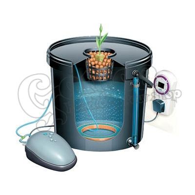 Système de culture Hydroponique Neptune Hydroponics DWC POT 25L