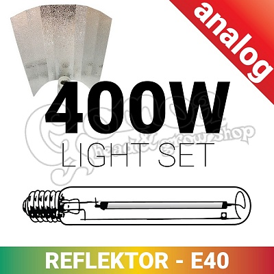 Grow light set 400W