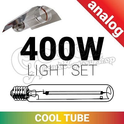 Grow light set 400W Cool Tube