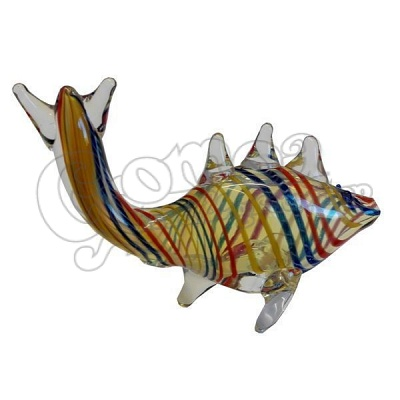 Fish Shape Glass Pipe 2