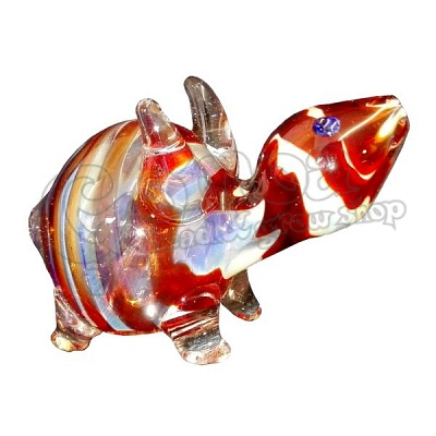 Turtle Shape Glass Pipe 2