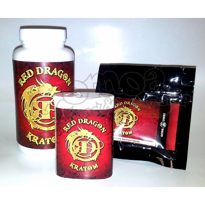 Red Dragon Kratom Capsules 2