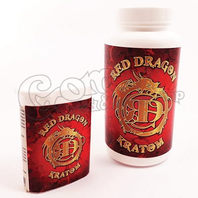 Red Dragon Kratom Capsules