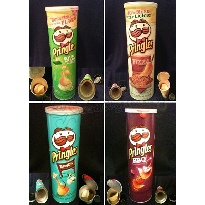 Pringles Chips Secret Stash Can With Different Flavores 2