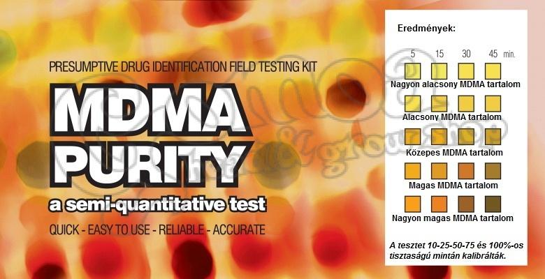 Ez Test Mdma Purity 1pc Drug Test Head Shop Gomoa Shop